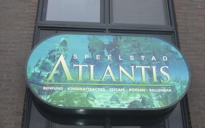 Atlantis lichtbak W&O lichtreclame