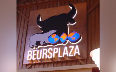 Beursplaza-sign