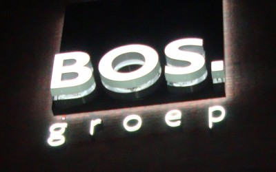 Bos LED W&O lichtreclame