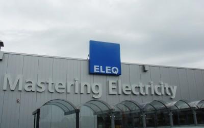 ELEQ W&O lichtreclame LED