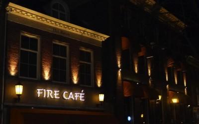 FIRE gevelverlichting W&O lichtreclame