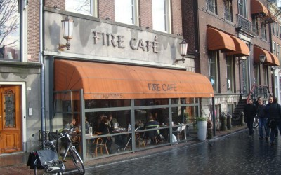 Fire Cafe winterterras