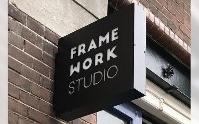 Frame-work-studio-uithangbord