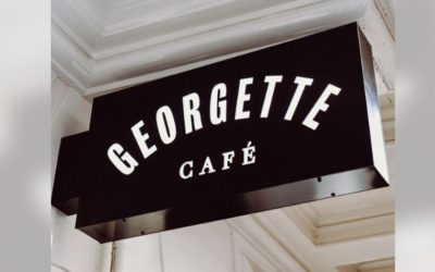Georgette café uithangbord