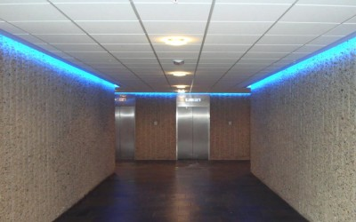 LED contouren zuidpark