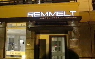 LED letters W&O lichtreclame Remmelt