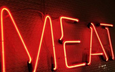 MEAT neon
