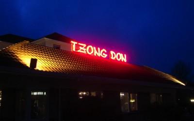 Neon lichtreclame TZONG DON