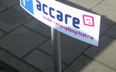 Parkeerbordje Accare