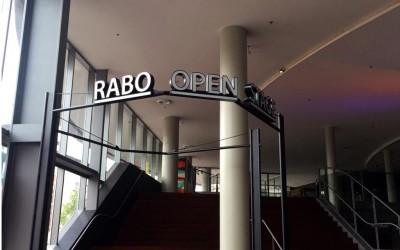 RABO OPEN STAGE tivolivredenburg LED lichtreclame