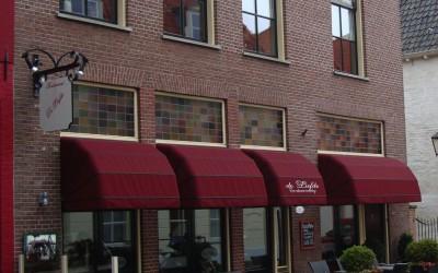 Restaurant de nieuwe liefde markiezen W&O lichtreclame