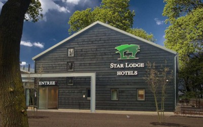 Star Lodge LED letters