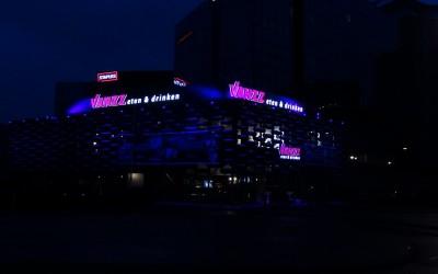 VANZZ arena LEd gevleverlichting doosletters
