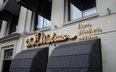 Walrus neon markiezen