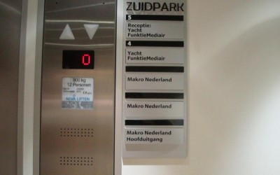 Zuidpark-lift