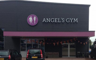 angels gym LED lichtreclame