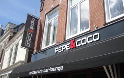 banier markies LED pepe & coco W&O lichtreclame