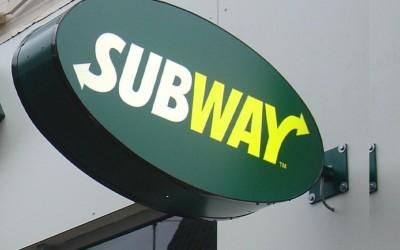 dz subway ovaal uithangbord LED