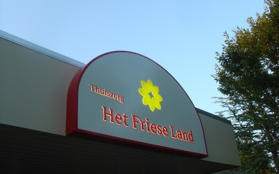 friese land dooslogo met LED