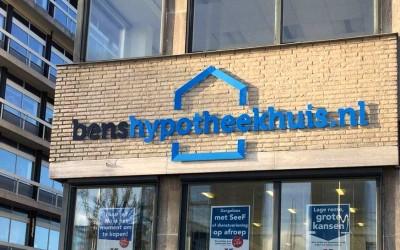 gevelletters bens hypotheekhuis