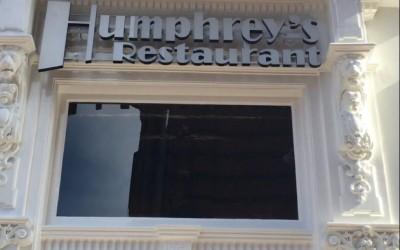 humphrey's arnhem LED letters lichtreclame