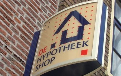 hypotheekshop uithangbord 1