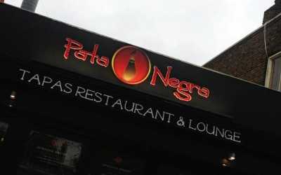 pata negra freesletters W&O lichtreclame