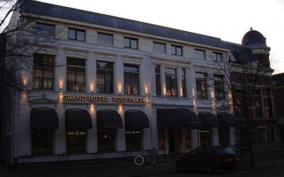post plaza hotel gevelverlichting