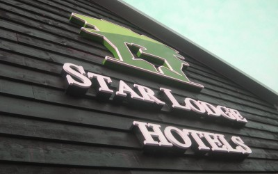 star lodge hotels LEDreclame