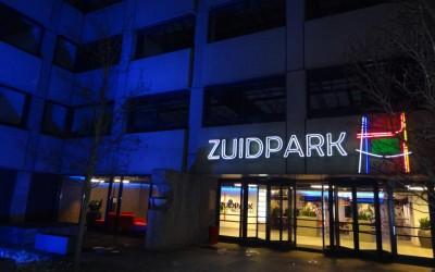 zuidpark neon gevelverlichting
