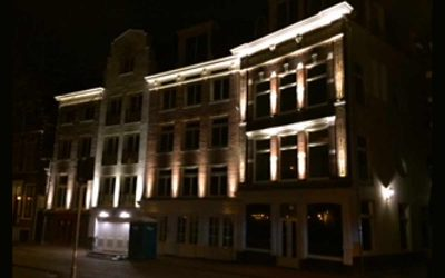 Spaarnekroon Haarlem gevelverlichting