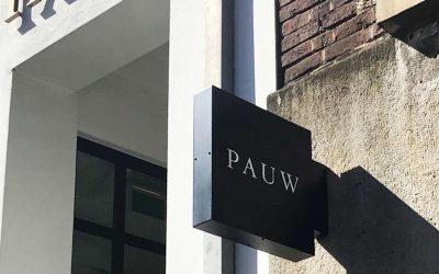 pauw-uithangbord
