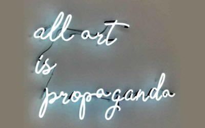 wenolichtreclame-all-art-is-propaganda