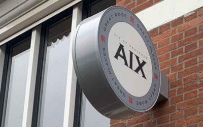 aix-uithangbord