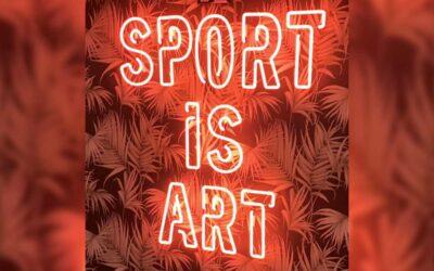 sport is art neon